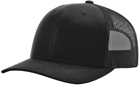 Richardson 112 Twill Mesh Snapback Trucker Caps (EMBROIDERY AVAILABLE)