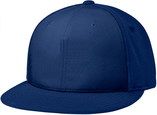Richardson Adult Pts20 SOLID COLORS Pulse R-Flex Custom Black Baseball Cap (EMBROIDERY AVAILABLE) - AtlanticCoastSports