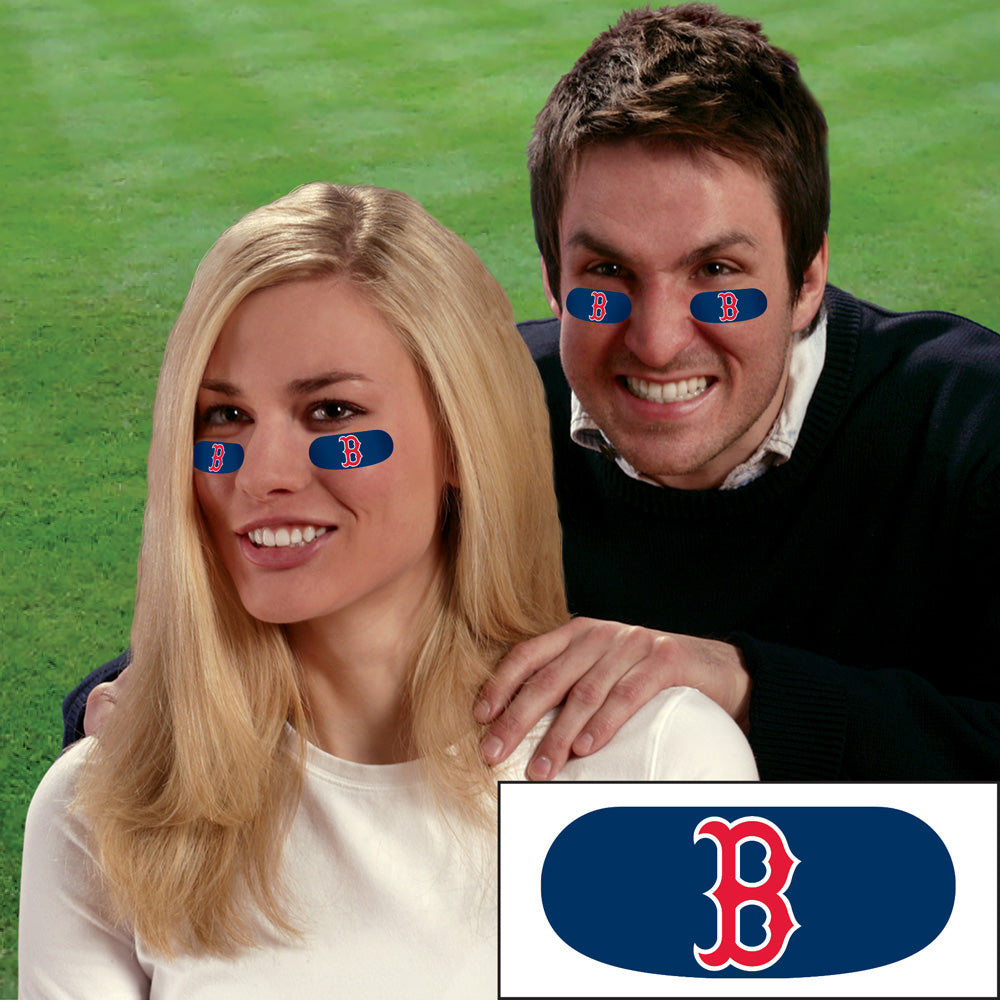 Boston Red Sox Face Decorations (6 sets included) - AtlanticCoastSports