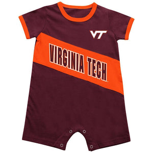 Virginia Tech Hokies Infant  Romper - AtlanticCoastSports