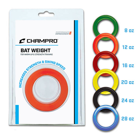 Champro Bat Weights - AtlanticCoastSports