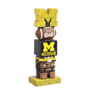 Michigan Wolverines Team Garden Statue - AtlanticCoastSports