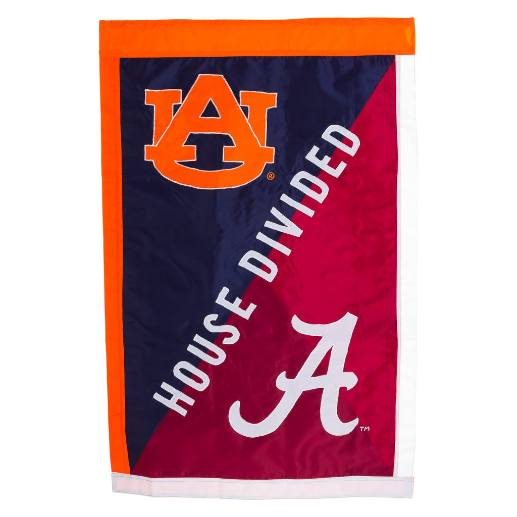 Alambama/Auburn NCAA House Divided House Flag - AtlanticCoastSports