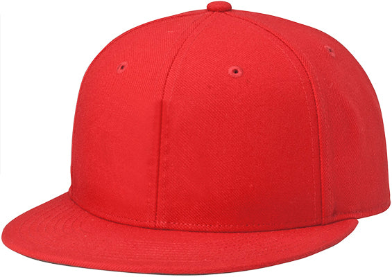 Richardson PTS65 Surge Fitted Custom Baseball Cap Red Embroidery Available - AtlanticCoastSports