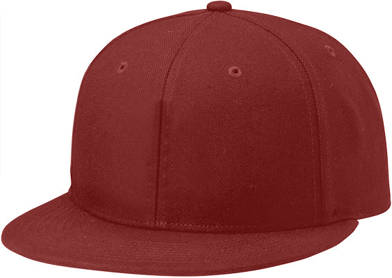 Richardson PTS65 Surge Fitted Custom Baseball Cap Maroon Embroidery Available - AtlanticCoastSports