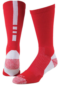 Pro Feet 238 Pro Feet Performance Shooter 2.0 Socks - Red White Size MED 9 - 11 - AtlanticCoastSports