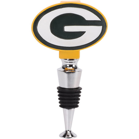 Green Bay Packers Logo Bottle Stopper - AtlanticCoastSports