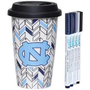 North Carolina Tar Heels Just Add Color Travel Cup - AtlanticCoastSports