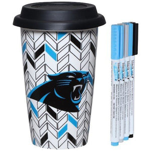 Carolina Panthers Just Add Color Travel Cup - AtlanticCoastSports
