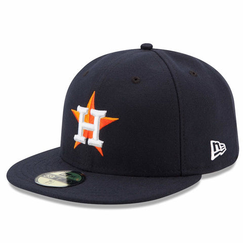 Houston Astros New Era Home Authentic Collection On Field 59FIFTY Performance Fitted Hat - Navy - AtlanticCoastSports