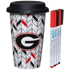 Georgia Bulldogs Just Add Color Travel Cup - AtlanticCoastSports