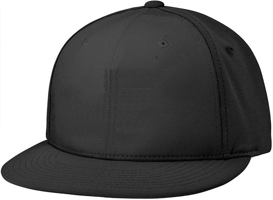 aba8f80d18afc Richardson Adult Pts20 SOLID COLORS Pulse R-Flex Custom Black Baseball Cap  (EMBROIDERY AVAILABLE