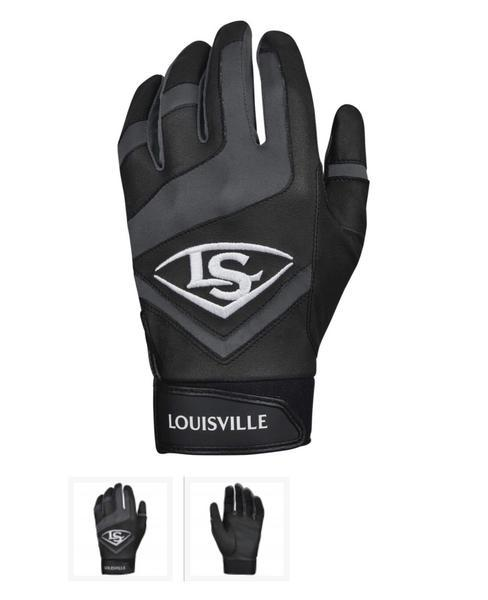 Louisville Slugger Genuine Adult Batting Gloves 2 Colors available - AtlanticCoastSports