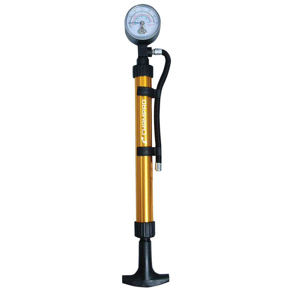 "Champro 10"" Dual Action Pump with Pressure Gauge - AtlanticCoastSports"