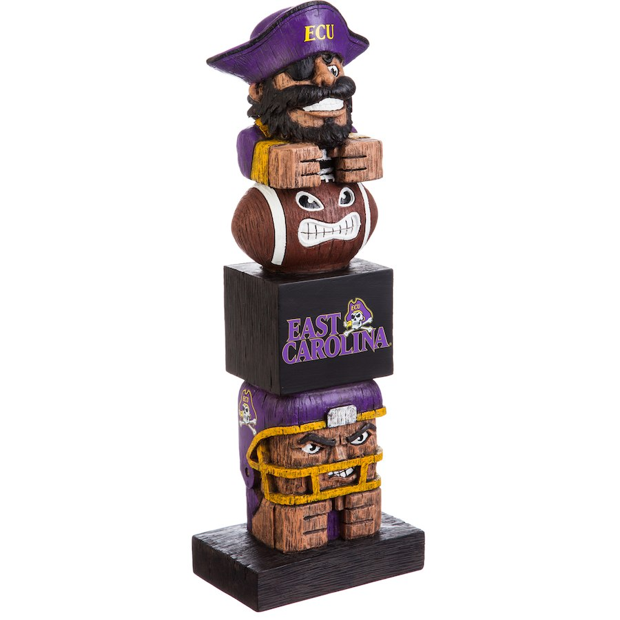 "East Carolina Pirates 16"" Team Tiki Totem - AtlanticCoastSports"