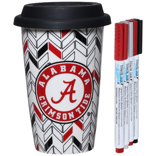 Alabama Crimson Tide Just Add Color Travel Cup - AtlanticCoastSports