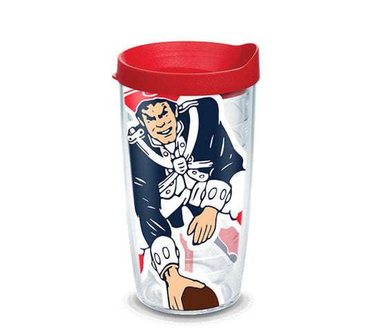 Tervis  NFL® New England Patriots Colossal Wrap With Travel Lid - AtlanticCoastSports