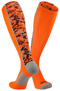 TCK Sports Elite Digital Camo Over The Calf Performance Socks - AtlanticCoastSports