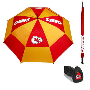"KANSAS CITY CHIEFS UMBRELLAS WINDSHEER 62"" - AtlanticCoastSports"
