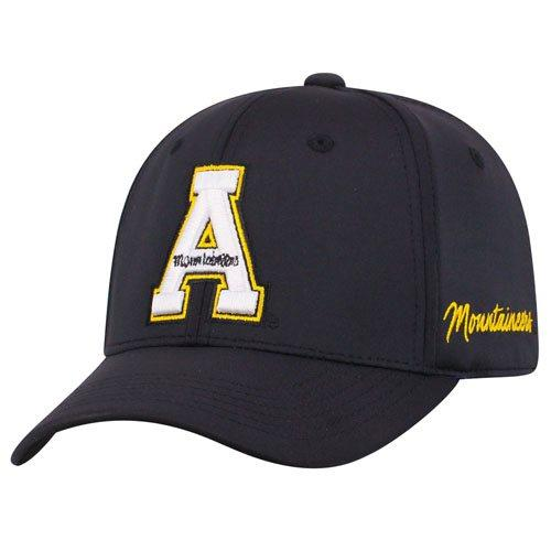 APPALACHIAN ST ONE-FIT BLACK PHENOM - AtlanticCoastSports