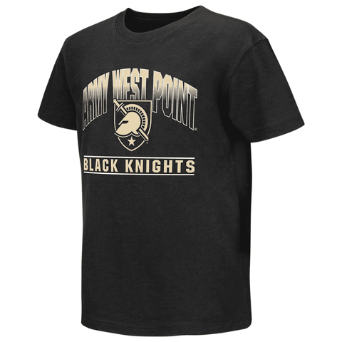 Colosseum Athletics Army Black Knights Youth Golden Boy Short Sleeve Tee - AtlanticCoastSports