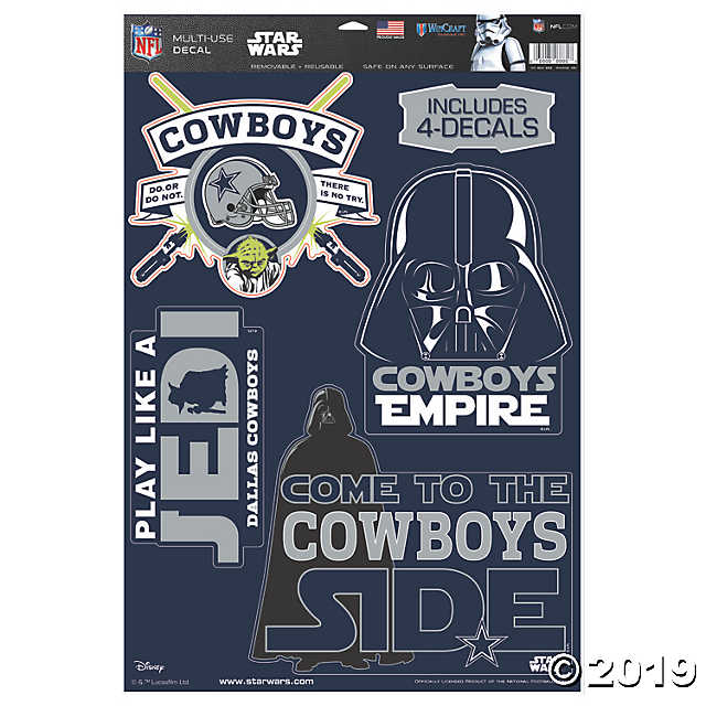 NFL® Dallas Cowboys™ Star Wars™ Decals - AtlanticCoastSports
