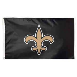New Orleans Saints    Flag - Deluxe   3' X 5' - AtlanticCoastSports