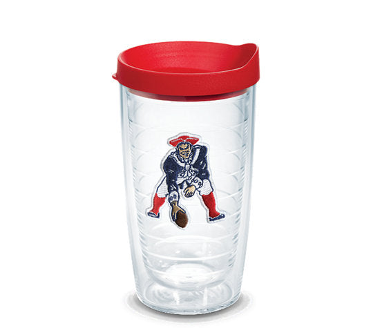 Tervis NFL® New England Patriots Legacy Emblem With Travel Lid - AtlanticCoastSports