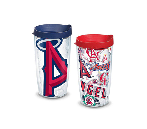 a00186dd0 Tervis MLB® Angels™ All Over and Colossal Wrap With Travel Lid 2-Pack
