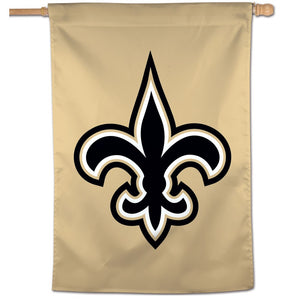 "New Orleans Saints Logo    Vertical Flag   28"" x 40"" - AtlanticCoastSports"