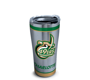 Stainless Steel Tumbler, Charlotte 49ers Tradition - AtlanticCoastSports