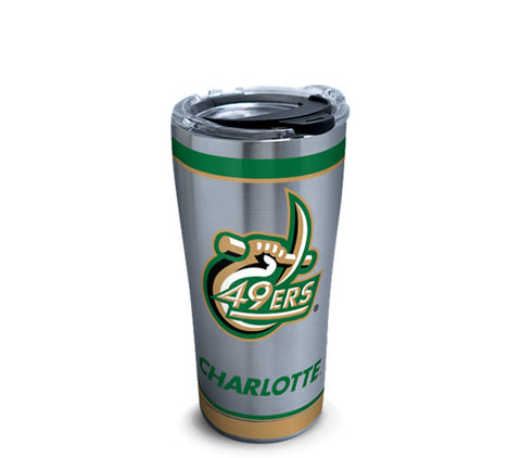 Stainless Steel Tumbler, Charlotte 49ers Tradition