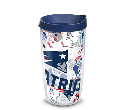 Tervis NFL® New England Patriots All Over Wrap With Travel Lid