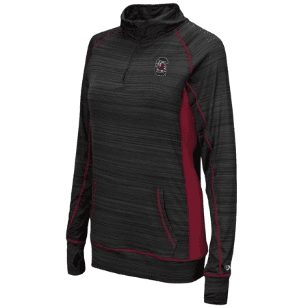Colosseum Athletics South Carolina Gamecocks Women's Freedom 1/4 Zip Long Sleeve Wind Shirt Womnes Med - AtlanticCoastSports