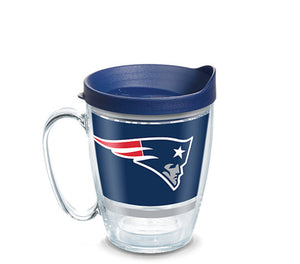 Tervis NFL® New England Patriots Legend Wrap With Travel Lid - AtlanticCoastSports