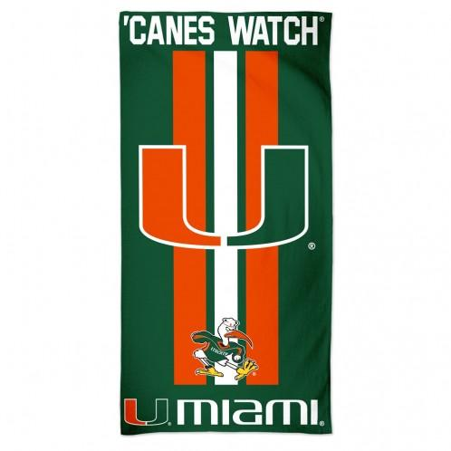 Miami Hurricanes Beach Towel - AtlanticCoastSports