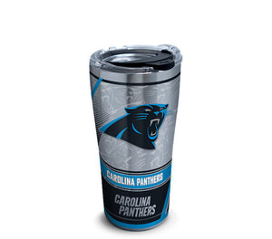 Carolina Panthers Edge Stainless Steel With Hammer Lid - AtlanticCoastSports