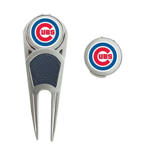 WinCraft Chicago Cubs Ball Marker, Hat Clip & Repair Tool Set