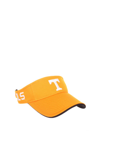 4cce3697 Tennessee (Knoxville) Volley Visor (T) Light Orange VaporTech Adjustable Hat  by Zephyr