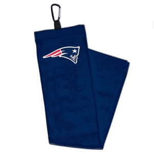 NFL New England Patriots Embroidered Golf Towel - AtlanticCoastSports