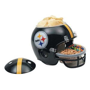Officially Licensed NFL Plastic Snack Helmet - Steelers - AtlanticCoastSports