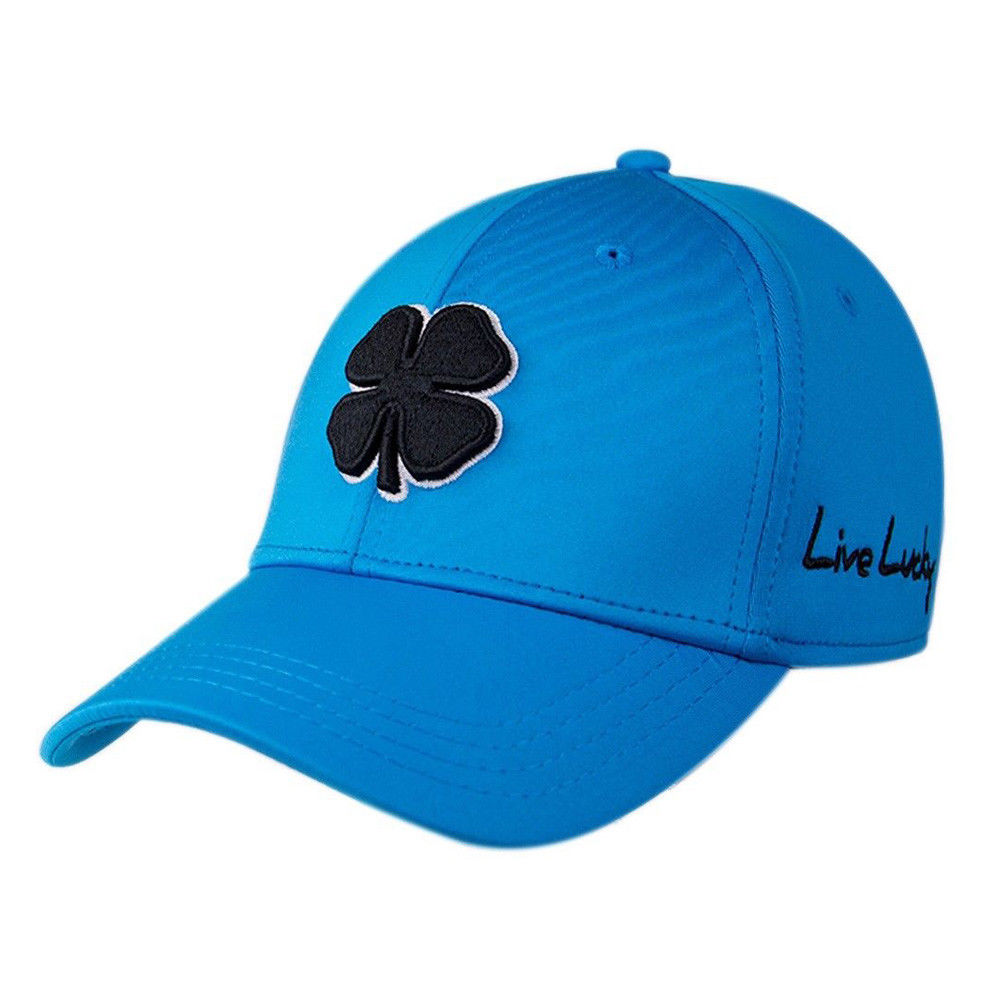 New Black Clover Golf- 2018 Premium Clover #82 Hat L/XL Blk Clover/Wht Trim/Blue - AtlanticCoastSports