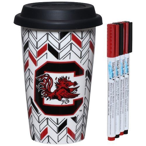 South Carolina Gamecocks Just Add Color Travel Cup - AtlanticCoastSports