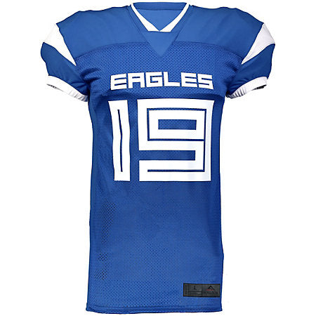 Augusta Youth Slant Football Jersey (Free print while supplies quantities are available)