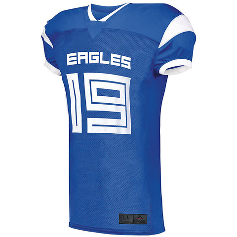 Augusta Adult Slant Football Jersey Free Decoration while supplies last 14 Colors Available