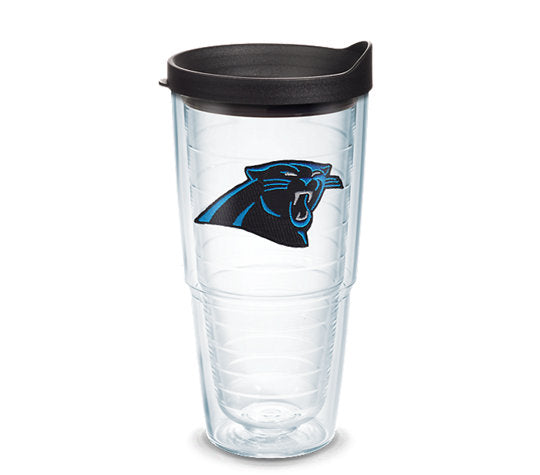 NFL® Carolina Panthers Primary Logo 100Z/12OZ/16OZ/24OZ Available - AtlanticCoastSports