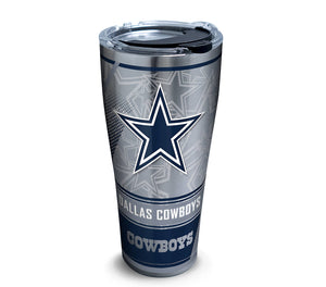 NFL® Dallas Cowboys Edge Steel Tumber with Hammer lid - AtlanticCoastSports