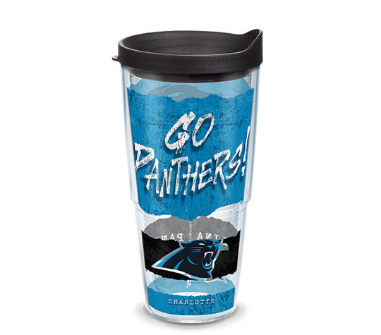 NFL® Carolina Panthers NFL Statement Tervis Cup 16oz/24oz available - AtlanticCoastSports