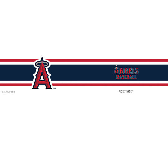 Tervis MLB® Angels™ Stripes Stainless Steel With Hammer Lid - AtlanticCoastSports