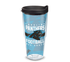 NFL® Carolina Panthers Gridiron Tervis Cup 16oz/24oz available - AtlanticCoastSports
